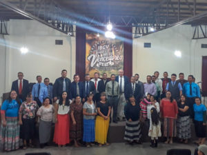 Pastors and Workers Attending Youth Camp 2018
