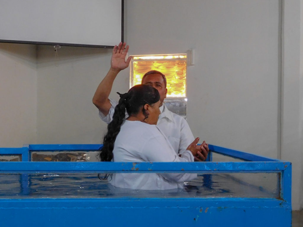 Baptism at the GVBC