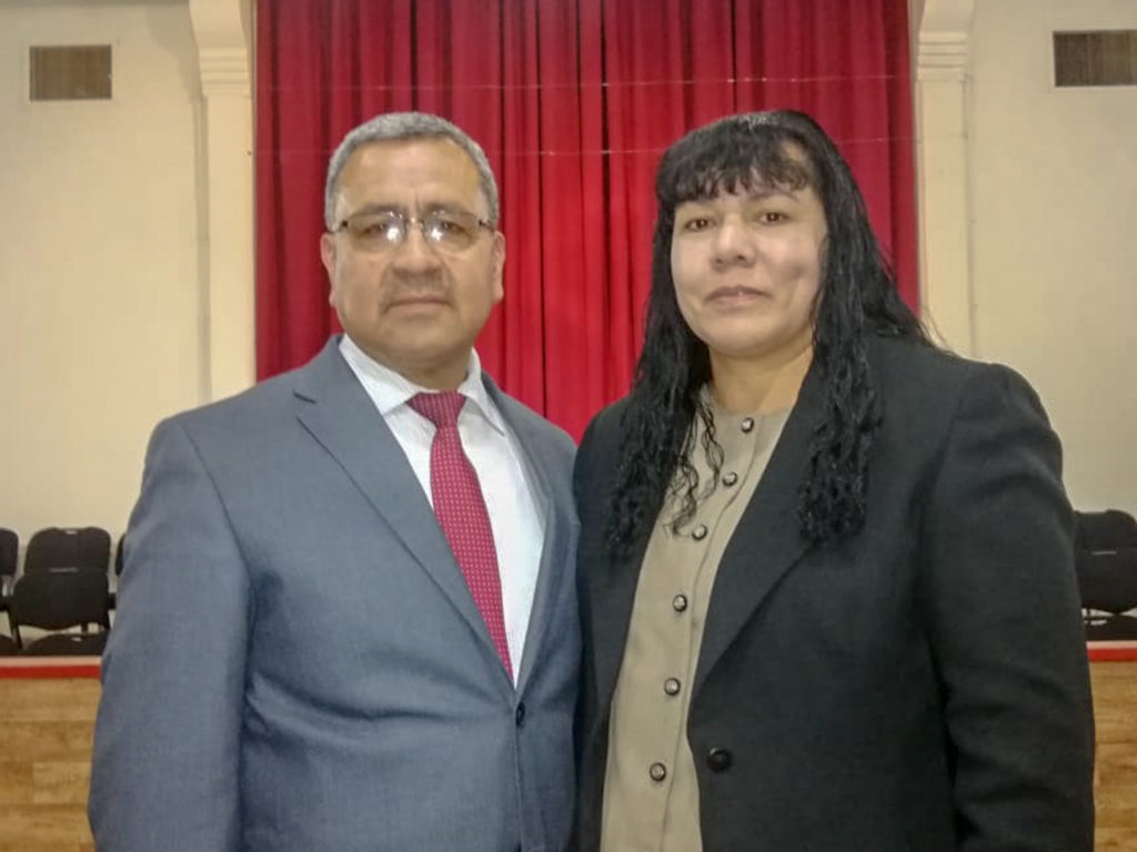 Pastor Martinez and his Wife Josefa