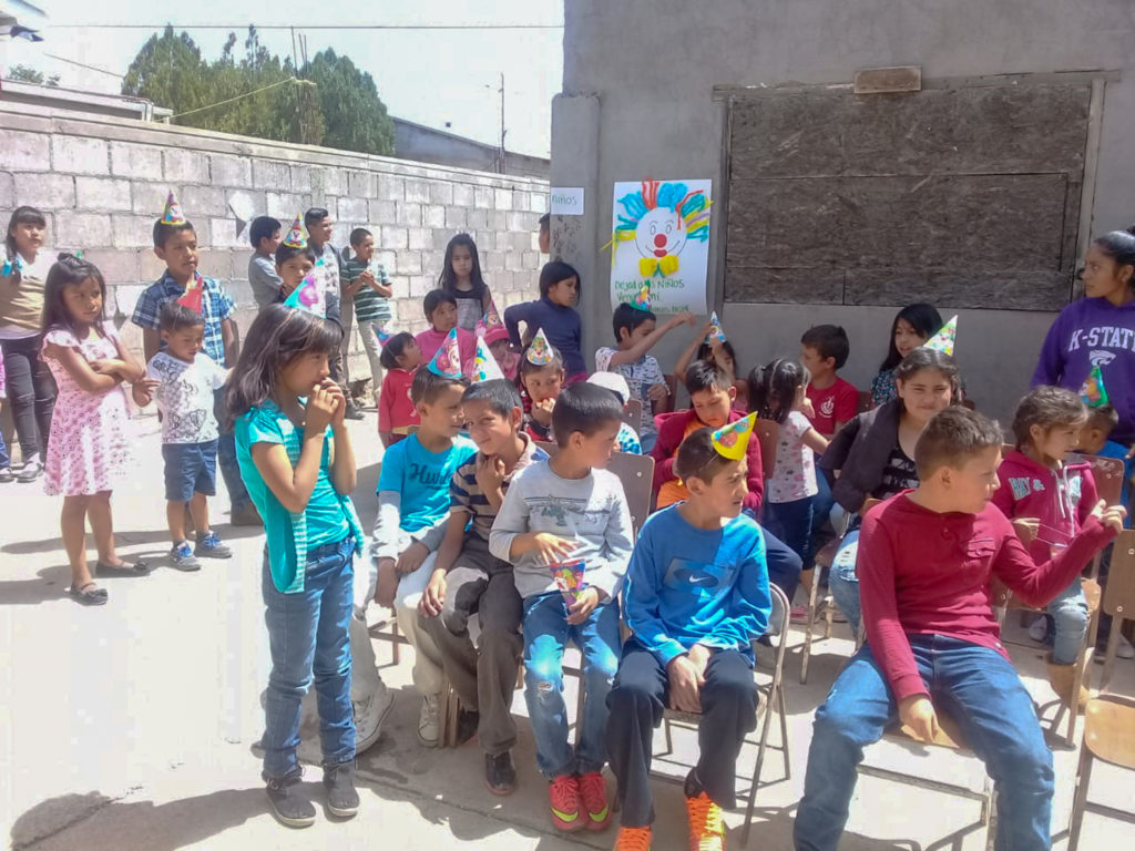 Children's Day Service in La Junta