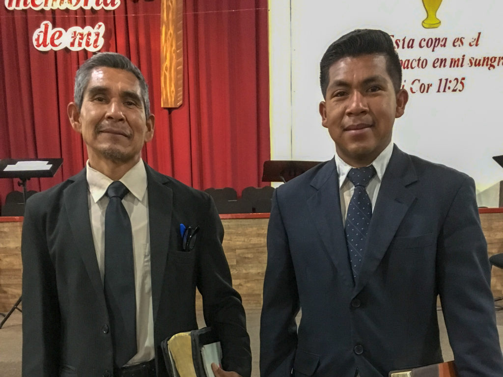 Brother Ramon Vicente Lara and son Aaron