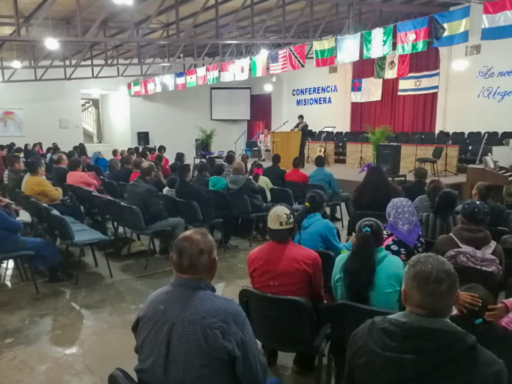 Missionary Conference in the GVBC