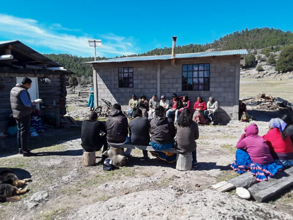 Services in a Tarahumara Community