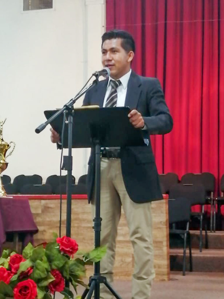 Brother Aaron Emanuel Vivente Muñoz Speaking