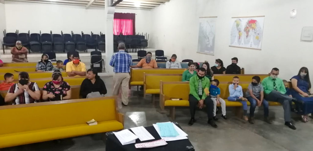 Church Service in the GVBC