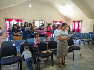 Church Service in Natahuachi