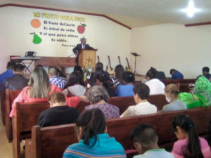Brother Jose Martinez Preaching in Panalachi