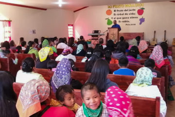 Brother Mario Preaching at the Panalachi Baptist Mission