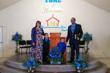 Brother Adriel Martinez and Famnily