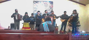 Church Service in the Panalachi Mission